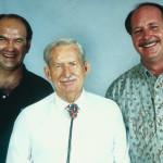 eddie tullock with Kenton and Gene Urban